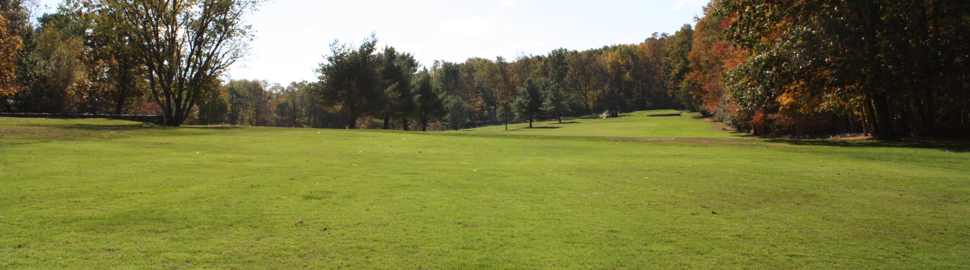 Lush greens at Pehquenakonck Country Club in North Salem